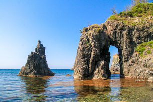 青海島の写真素材 [FYI03157509]