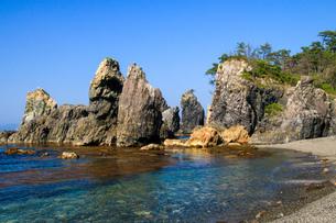 青海島の写真素材 [FYI03157514]