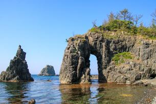 青海島の写真素材 [FYI03157518]