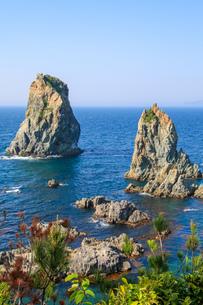 青海島の写真素材 [FYI03157521]