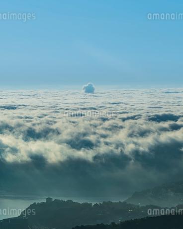 天狗山ロープウェイ山頂駅からの景色  日本 北海道 小樽市の写真素材 [FYI03157538]