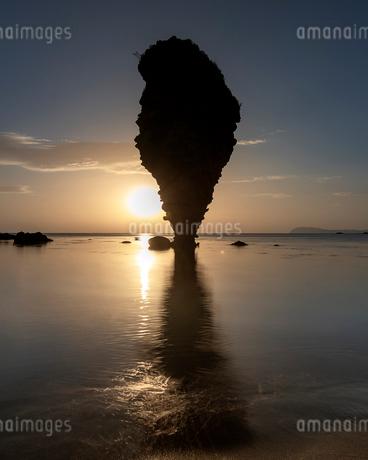 えびす岩 大黒岩 日本 北海道 余市町の写真素材 [FYI03157539]