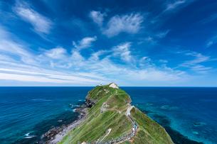 岬の風景 日本 北海道の写真素材 [FYI03157542]