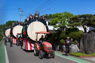 鷹巣 八幡宮綴子神社大祭行事の写真素材 [FYI03157777]