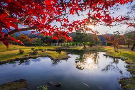 楽山園 日本 群馬県 甘楽町の写真素材 [FYI03157903]