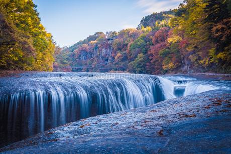 吹割の滝 (Fukiware falls) 日本 群馬県 沼田市の写真素材 [FYI03157905]