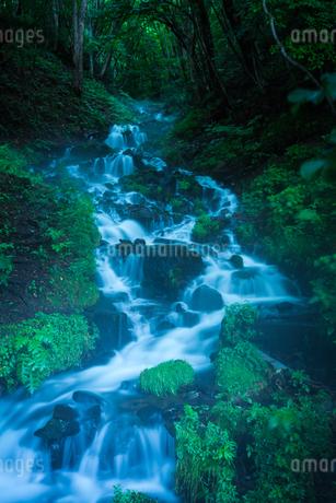 強清水の滝 日本 群馬県 沼田市の写真素材 [FYI03157935]