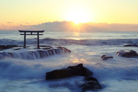 大洗海岸 日本 茨城県 大洗町の写真素材 [FYI03157944]