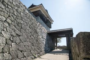 松山城 戸無門 国重要文化財の写真素材 [FYI03158100]