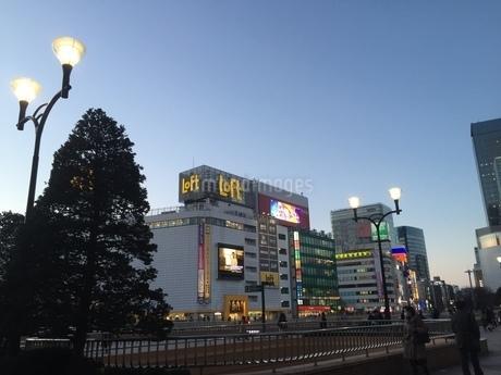 仙台駅前の写真素材 [FYI03158526]