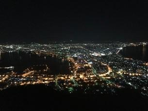 函館夜景の写真素材 [FYI03158894]