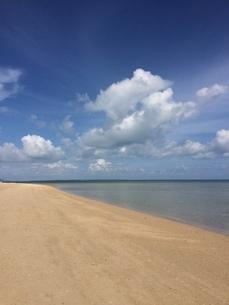 青空 砂浜の写真素材 [FYI03158972]
