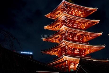 五重の塔の写真素材 [FYI03159014]