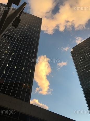 都会の空の写真素材 [FYI03159261]