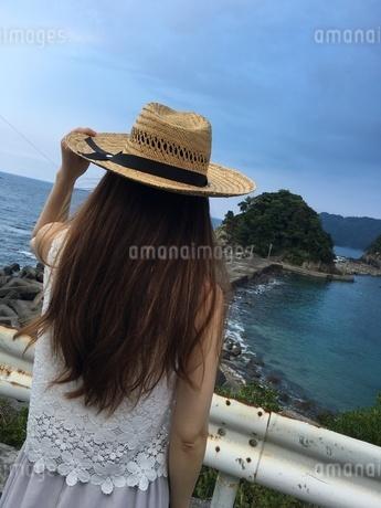 帽子と人の写真素材 [FYI03159277]