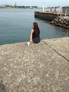 海と人の写真素材 [FYI03159305]