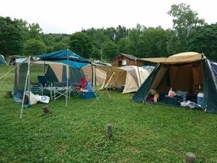 キャンプの写真素材 [FYI03159332]