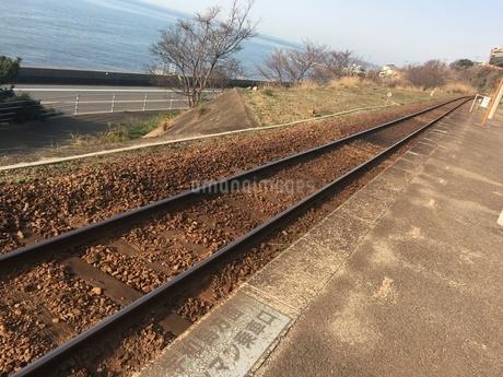線路の写真素材 [FYI03159395]