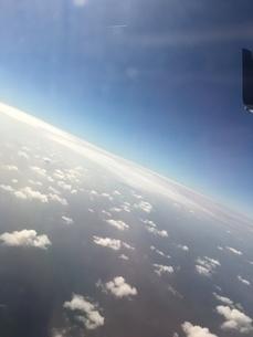 飛行機からの風景の写真素材 [FYI03159415]