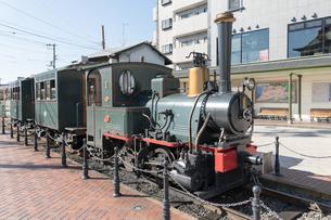 松山市内の 観光列車 坊ちゃん列車の写真素材 [FYI03159583]