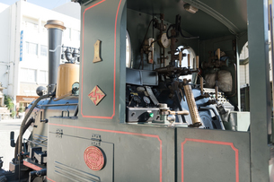 坊ちゃん列車 運転席の写真素材 [FYI03159586]