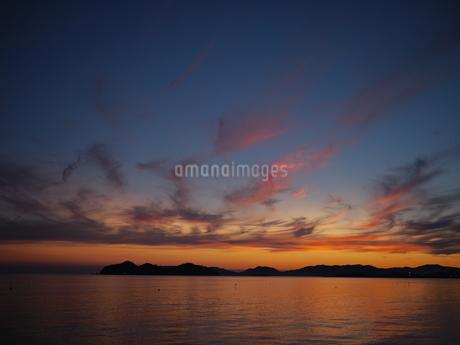 夕日の写真素材 [FYI03159837]