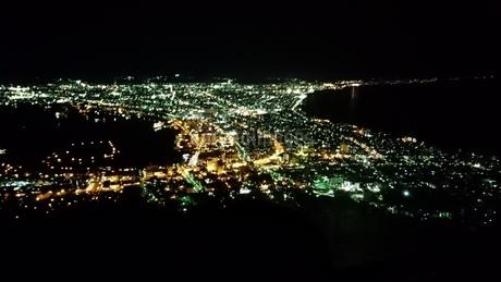 函館夜景の写真素材 [FYI03160123]