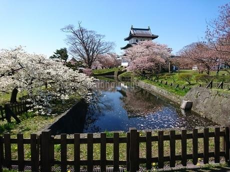 松前城の写真素材 [FYI03160128]