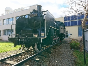 蒸気機関車の写真素材 [FYI03160134]