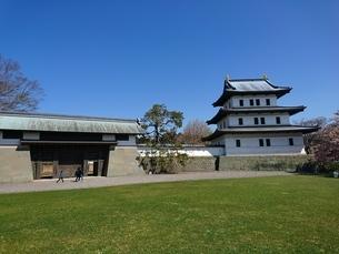 松前城の写真素材 [FYI03160140]