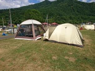 キャンプの写真素材 [FYI03160152]