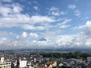 富士山の写真素材 [FYI03160407]