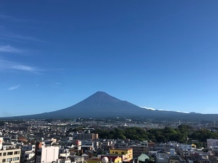 富士山の写真素材 [FYI03160415]
