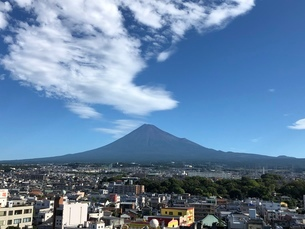 富士山の写真素材 [FYI03160417]