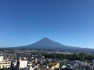 富士山の写真素材 [FYI03160420]
