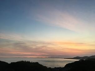 海の夕暮れの写真素材 [FYI03160521]