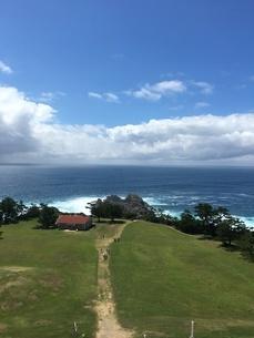 台風前の潮岬の写真素材 [FYI03160523]