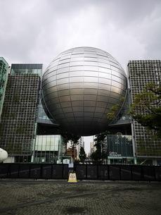 世界一の名古屋市科学館のプラネタリウムの写真素材 [FYI03160785]