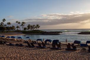 ハワイの夕焼けの写真素材 [FYI03160875]