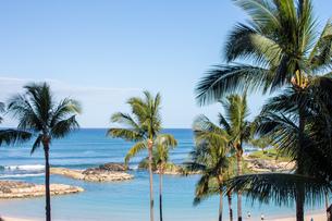 ハワイの水平線の写真素材 [FYI03160886]