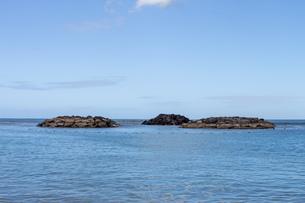 ハワイの水平線の写真素材 [FYI03160901]