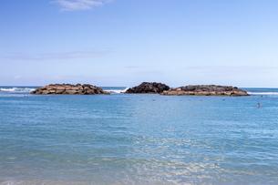 ハワイの水平線の写真素材 [FYI03160904]