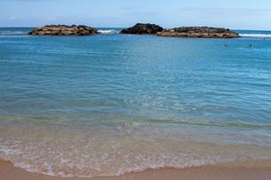 ハワイの水平線の写真素材 [FYI03160905]