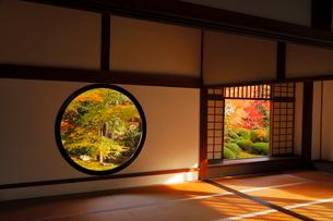 11月 鷹ヶ峯の源光庵 -京都の紅葉-の写真素材 [FYI03161115]