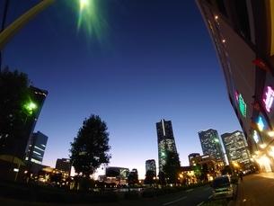 夜景(横浜)の写真素材 [FYI03161702]