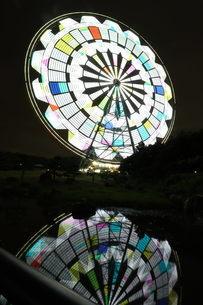 夜景 観覧車の写真素材 [FYI03161707]