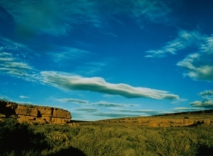 チャコキャニオン   ニューメキシコ州  アメリカの写真素材 [FYI03162123]