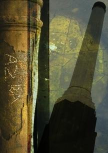 塔のコラージュの写真素材 [FYI03162148]