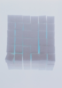 積み上げられた角砂糖の写真素材 [FYI03162892]