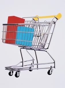 ショッピングカートの写真素材 [FYI03162959]